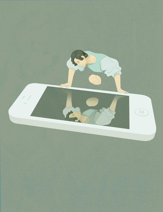 Trong thời đại số và với một chiếc smartphone, ai cũng là người đẹp nhất, ai cũng yêu bản thân mình nhất.