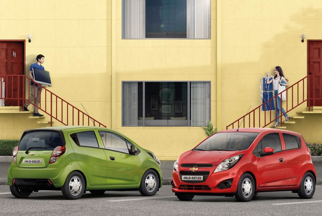 Chevrolet Spark Duo mới...