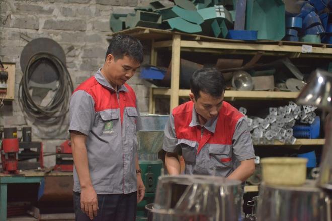 Từ một kỹ sư công nghệ thông tin bỏ việc, anh Châu đã tạo công ăn việc làm cho hơn 100 lao động khi dám theo đuổi ước mơ của mình. Ảnh: H.P.
