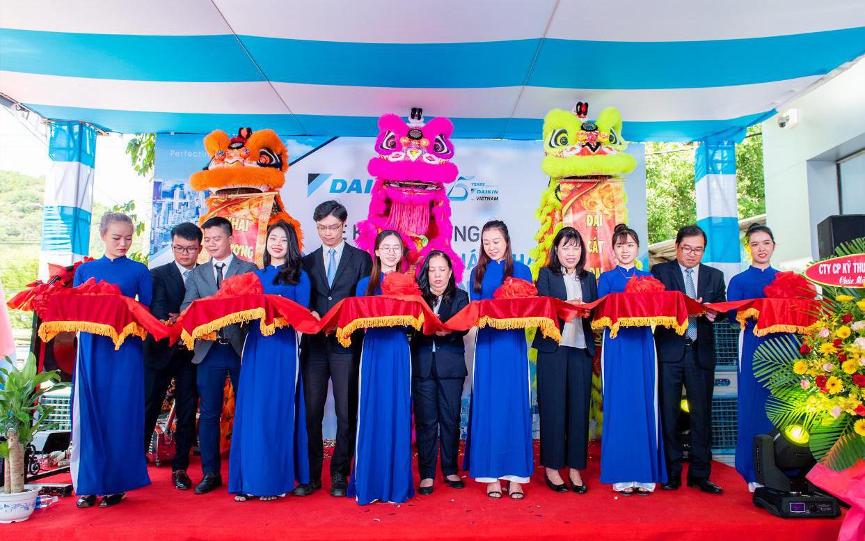 Daikin thành lập trạm dịch vụ tại Bình Định – tăng cường mạng lưới dịch vụ tại miền Trung Việt Nam