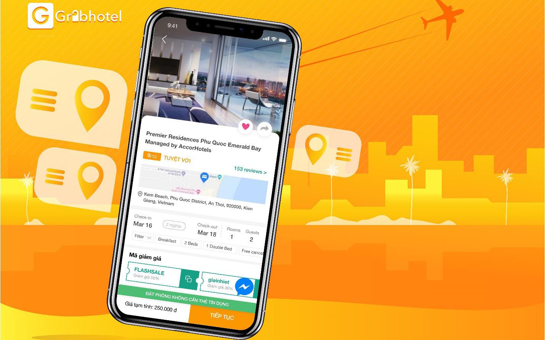 Grabhotel- App đặt phòng nghỉ giờ, du lịch thông minh