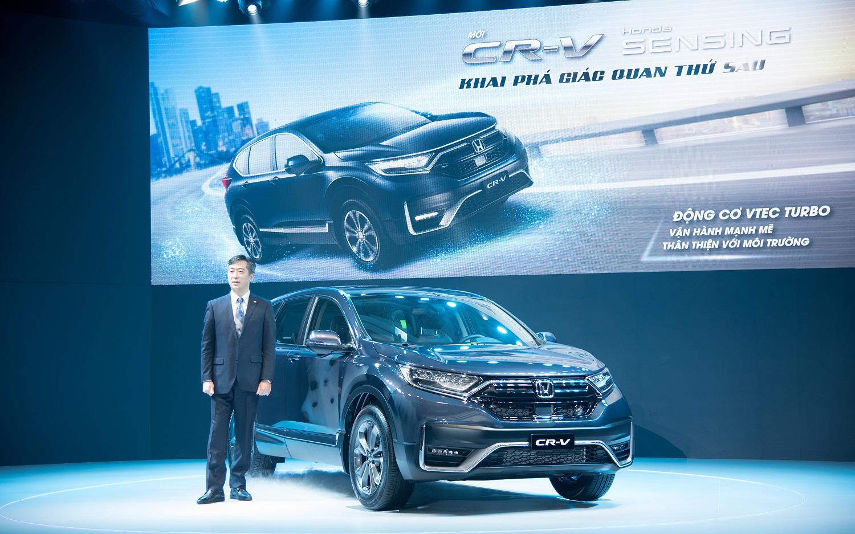 Honda Việt Nam ra mắt CR-V 2020 với điểm nhấn công nghệ Honda SENSING