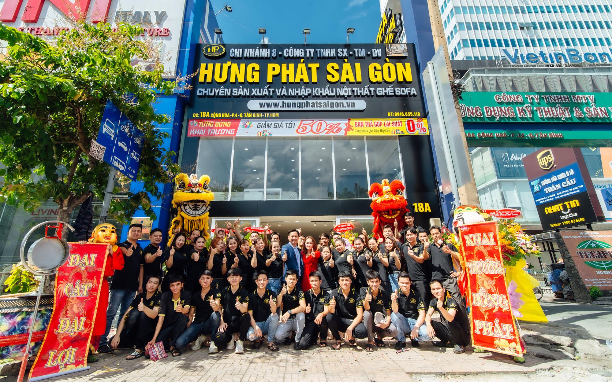 Hưng Phát Sài Gòn tưng bừng khai trương showroom sofa cao cấp thứ 8