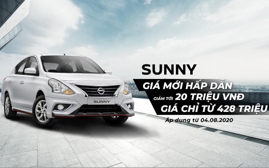 Nissan Việt Nam và TCIE Việt Nam công bố mức giá mới đặc biệt cho Nissan Sunny và ưu đãi tháng 8 cho các dòng xe Nissan