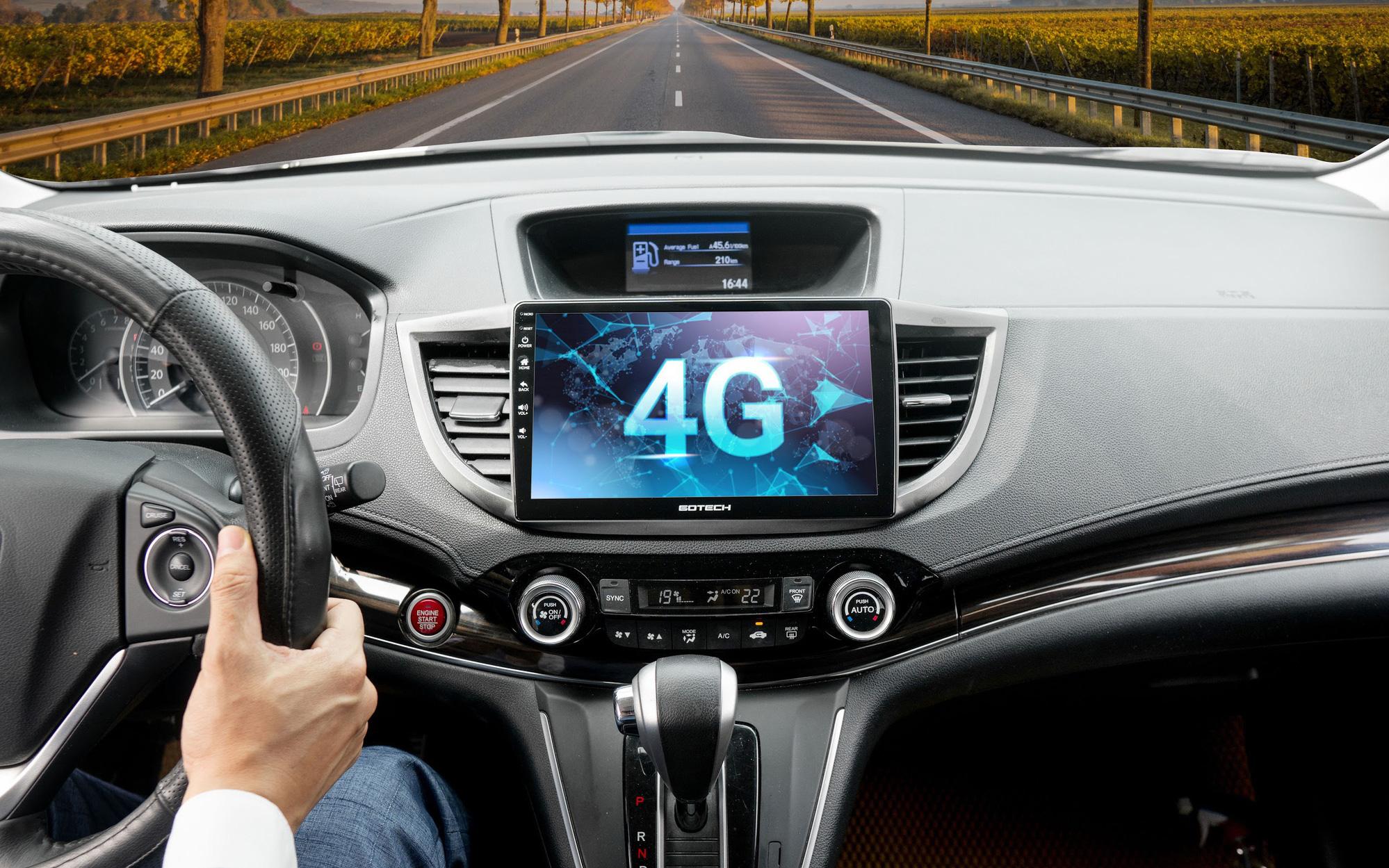 GOTECH ra mắt loạt màn hình ôtô điều khiển bằng giọng nói, giải trí vô hạn bằng 4G cho dân 'độ xe'