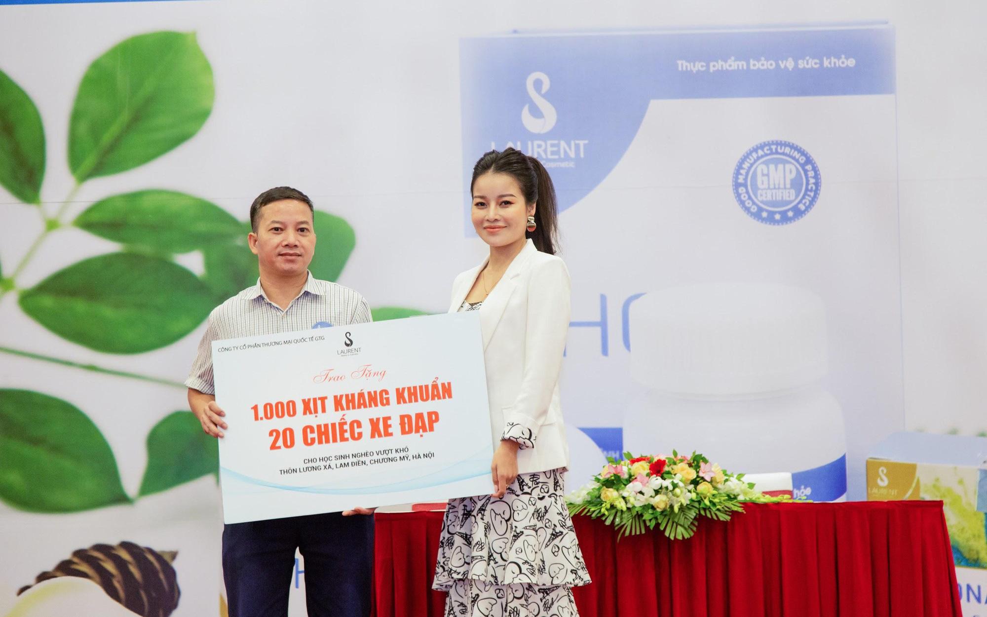 Ceo Đỗ Cao An Nhiên - nữ doanh nhân trẻ với tấm lòng nhân ái hướng về quê hương