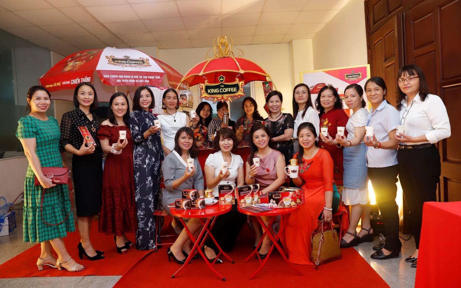 TNI King Coffee mang đến cơ hội khởi nghiệp cho hàng triệu phụ nữ thông qua dự án Women Can Do