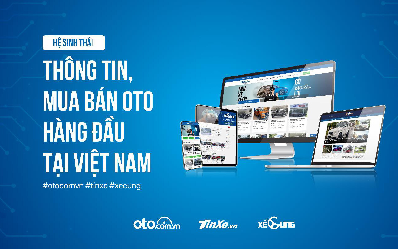 Giải pháp toàn diện cho hành trình mua xe hơi trực tuyến từ oto.com.vn và hệ sinh thái
