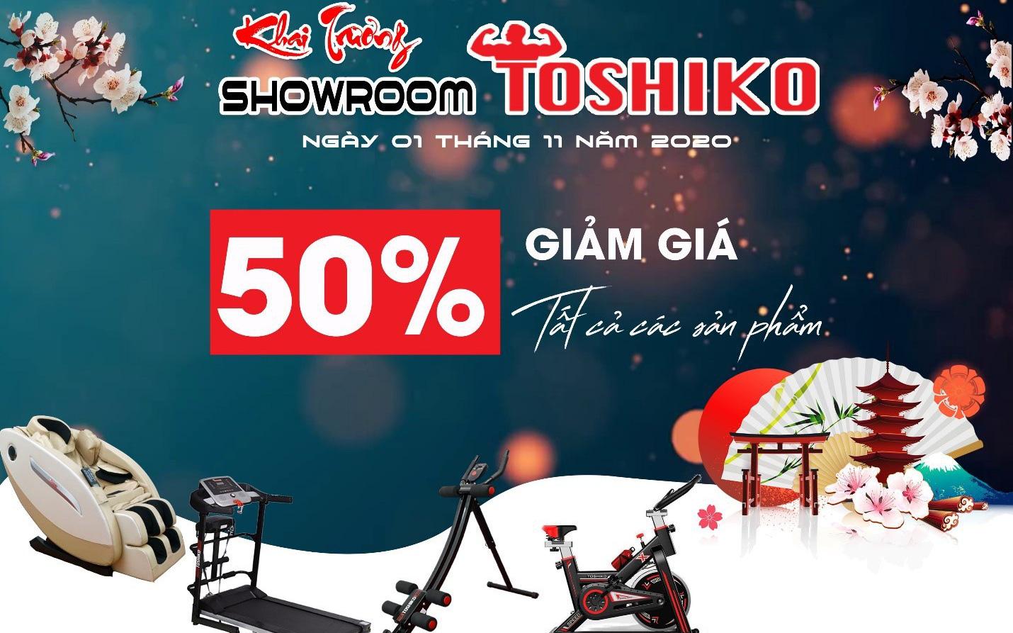 Toshiko khai trương showroom tặng nhiều phần quà hàng chục triệu đồng
