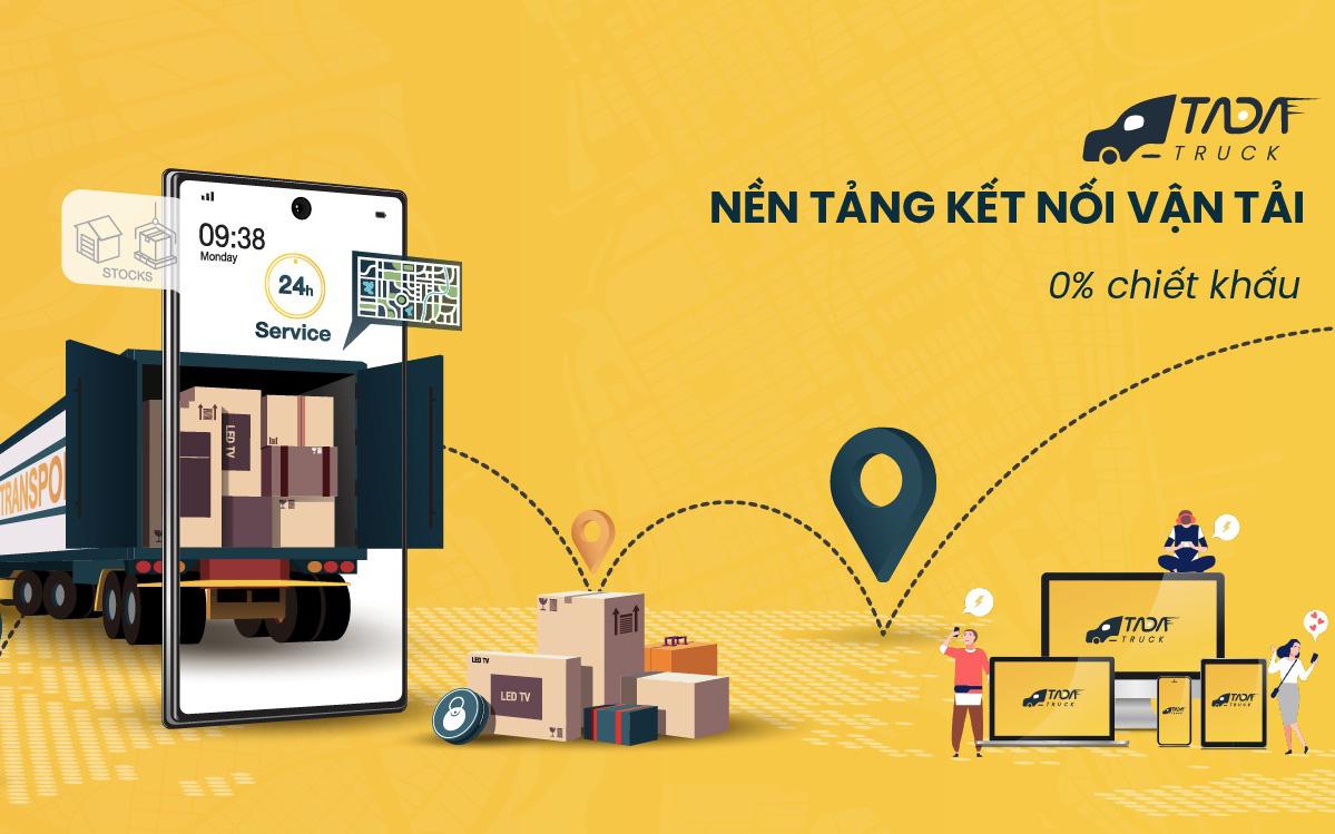 Xuất hiện nền tảng kết nối xe tải không chiết khấu tiên phong tại Việt Nam