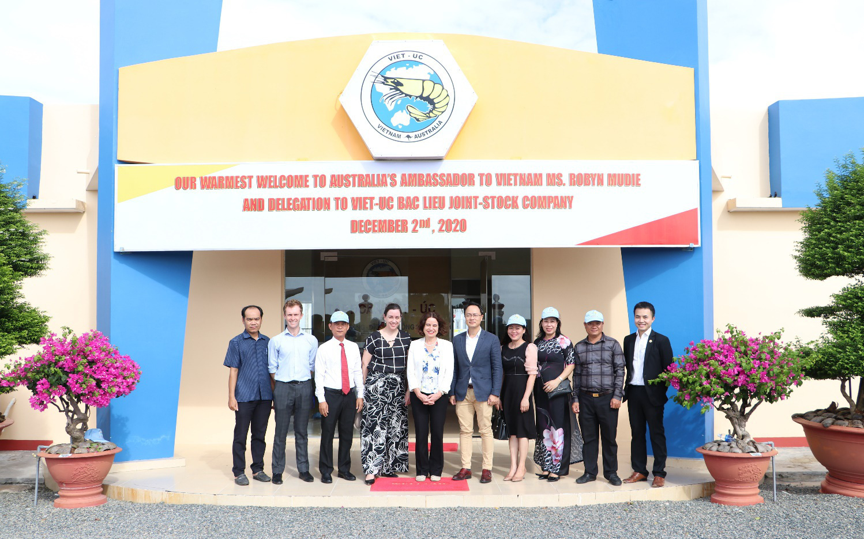 Tập đoàn Việt – Úc tiếp đón đoàn Đại Sứ Quán Úc tại Bạc Liêu