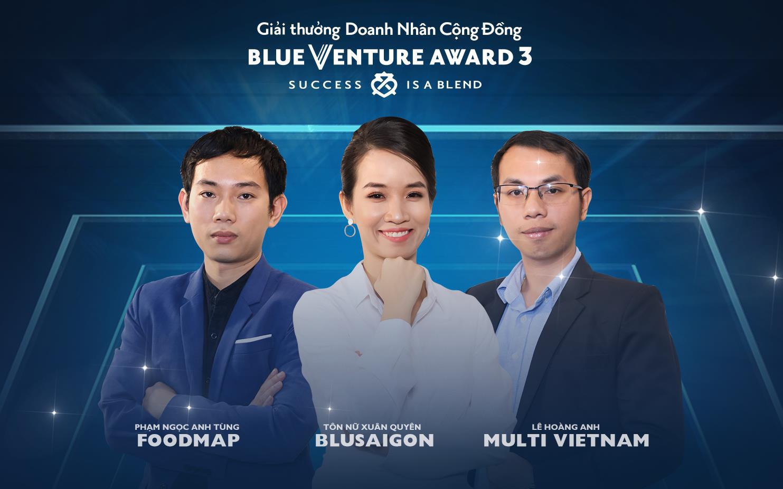 Chính thức công bố Top 3 startup xuất sắc của giải thưởng Blue Venture Award mùa 3