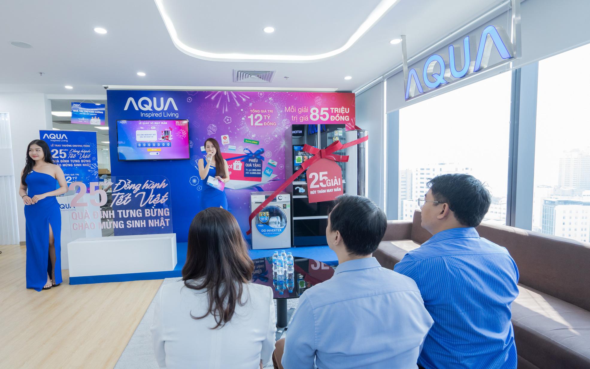 AQUA Việt Nam tri ân khách hàng lên đến 12 tỷ