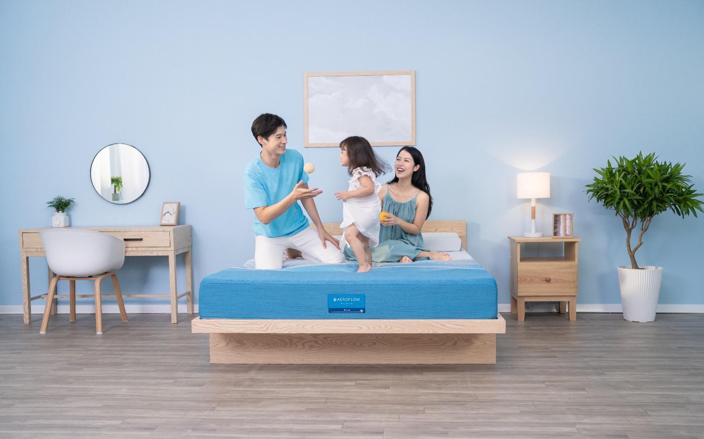 Aeroflow Pride - Ứng dụng công nghệ cho giấc ngủ trọn vẹn