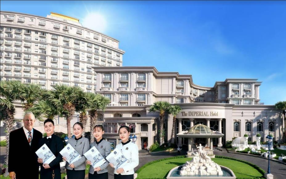 Độc đáo mô hình quốc tế HOTEL School – Một trong những trường trong khách sạn 5* đầu tiên và duy nhất ở Việt Nam