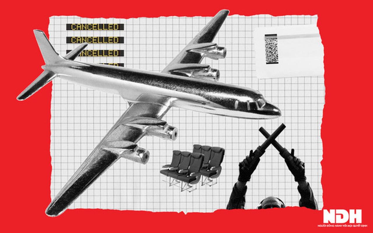 Hàng không Việt một năm 'bay trong bão'