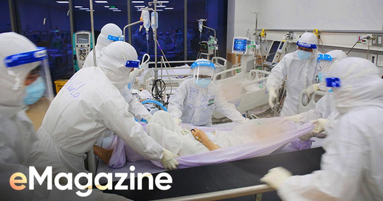 """7 giờ tại bệnh viện hồi sức Covid-19: Phút cân não giành giật từng hơi thở và cái cúi đầu """"tạm biệt"""""""