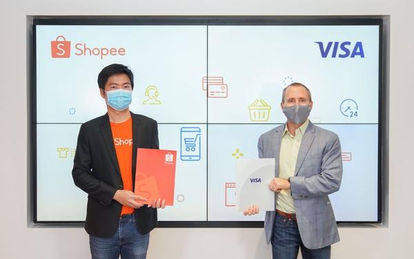Shopee và Visa ký kết hợp tác chiến lược