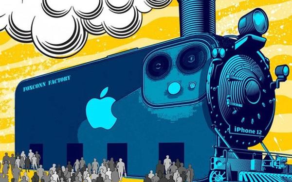 Bên trong 'thành phố iPhone' ở Trung Quốc, nơi những chiếc smartphone 5G mới của Apple đang sẵn sàng để sản xuất