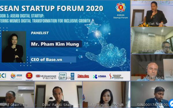 Việt Nam đăng cai diễn đàn khởi nghiệp ASEAN, công bố danh bạ giải pháp chuyển đổi số, Top 10 startup gọi tên Base, Triip, Vbee…