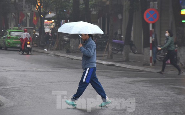 Gió mùa đông bắc về, miền Bắc mưa lạnh, miền Trung mưa lớn