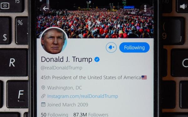 Tận dụng khẩu hiệu tranh cử, hacker tuyên bố đoán được mật khẩu Twitter của Tổng thống Trump
