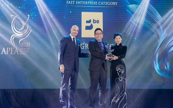 """Be Group đạt giải thưởng """"Kinh doanh xuất sắc châu Á"""" 2020"""