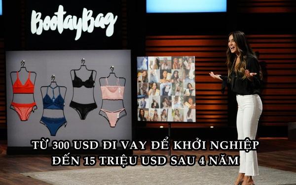Bán đồ lót theo gói, nữ sáng lập biến 300 USD đi vay thành 15 triệu USD sau 4 năm