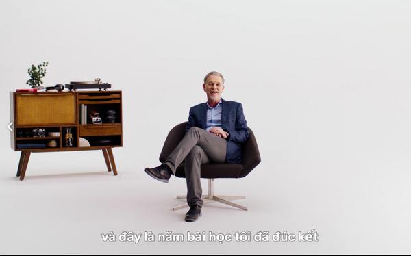 5 bài học được CEO Reed Hastings đúc kết ra sau hơn 20 năm tạo dựng Netflix