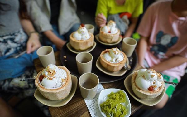 """Trend """"Sữa chua trân châu Hạ Long"""" vừa hạ nhiệt, một thương hiệu kem Côn Đảo lại ồ ạt xuất hiện, quảng cáo tặng khách iPhone 12, tham vọng mở... 800 cửa hàng"""
