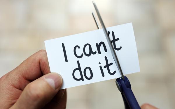 Làm cách nào để vượt qua tiếng nói 'Tôi không thể làm được' bên trong bạn?