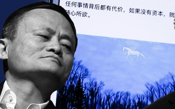 'Giẫm phải đuôi hổ', Jack Ma bị cảnh báo qua một bức tranh: 'Con ngựa' có thể bị thổi bay như một đám mây!
