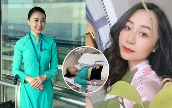 Nữ tiếp viên hàng không bị xe Mercedes tông vỡ xương chậu gần 1 năm về trước: Nằm liệt giường, trải qua 4 cuộc phẫu thuật với thương tật vĩnh viễn 75%