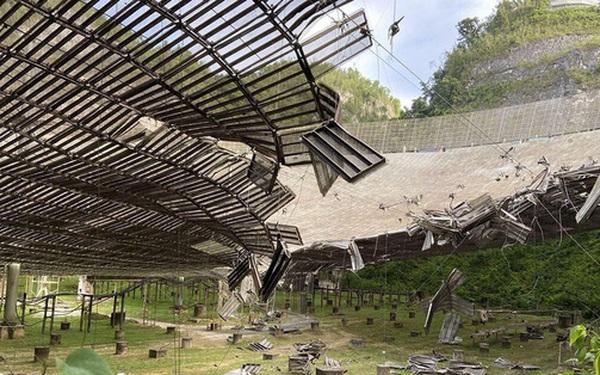 Kính viễn vọng lớn thứ 2 thế giới sẽ bị phá hủy do hư hỏng không thể sửa chữa