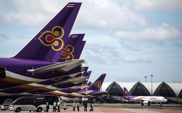 Sau khi tuyên bố phá sản, Thai Airways rao bán 34 máy bay