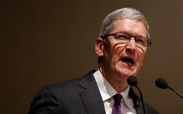Apple đối diện vụ kiện vì bình luận về Trung Quốc của CEO Tim Cook năm 2018