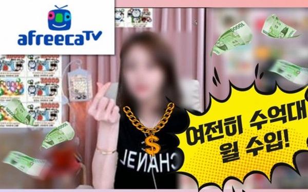 Sốc với thu nhập của streamer đình đám xứ Hàn