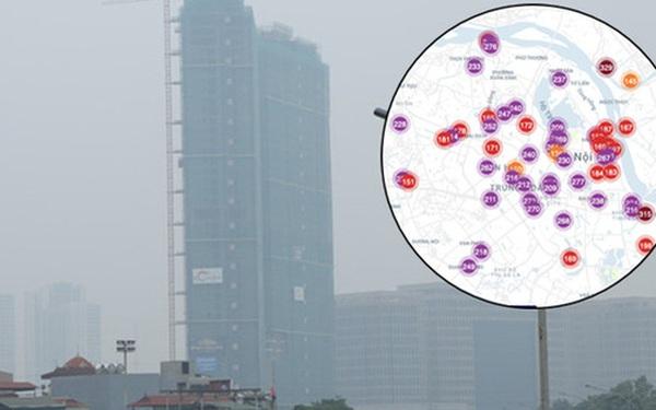 """Hà Nội ô nhiễm không khí thuộc top đầu thế giới, chuyên gia khuyến cáo: """"Mọi người cần hạn chế ra ngoài, hạn chế mở cửa"""""""