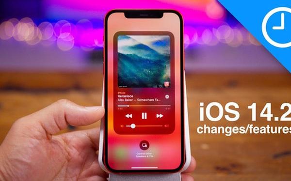 Apple phát hành iOS 14.2: Hình nền và biểu tượng cảm xúc mới, cài sẵn Shazam, sửa một loạt lỗi