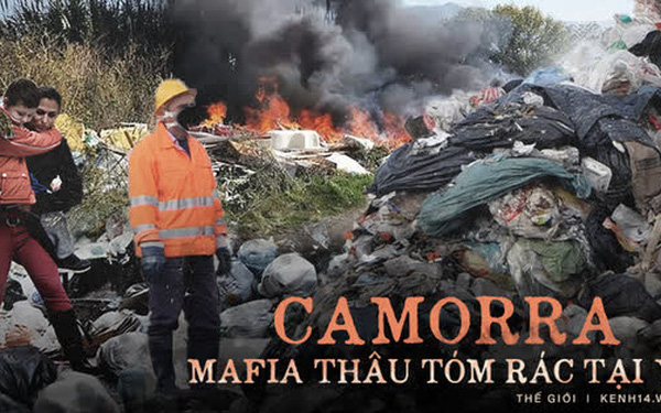 Băng nhóm thâu tóm toàn bộ bãi rác tại thành phố Ý, lợi nhuận hơn cả buôn ma túy và thảm họa đáng sợ xảy ra