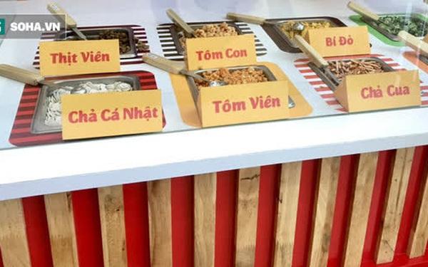Đại gia mì Hảo Hảo làm nhà hàng: Buffet mì tôm giá 10.000 đồng