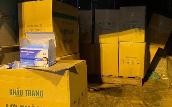 3 người mua 22.000 khẩu trang y tế ở Việt Nam bán qua Lào để kiếm lời