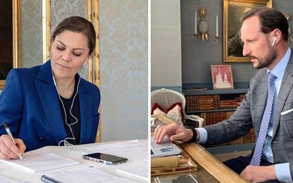 """Cuộc sống """"ở ẩn"""" của các thành viên hoàng gia thời dịch bệnh: Gói gọn trong phòng làm việc, người vẫn thần thái sang chảnh, người giản dị bất ngờ"""
