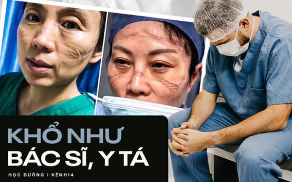 Chùm ảnh vật vờ, mặt biến dạng, nguy cơ bệnh tật cao... của các bác sĩ, y tá mùa dịch Covid-19 mới thấy ngành Y khổ thế nào!