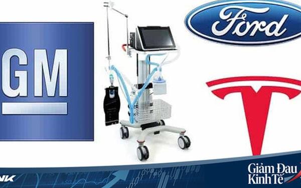 Áp dụng Đạo luật thời chiến, tổng thống Trump thúc giục các nhà sản xuất ô tô tham gia sản xuất trang thiết bị y tế