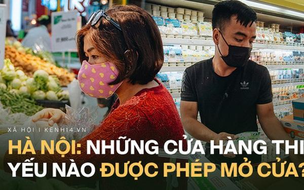Những cơ sở kinh doanh, dịch vụ nào ở Hà Nội được mở trong 15 ngày cách ly toàn xã hội?