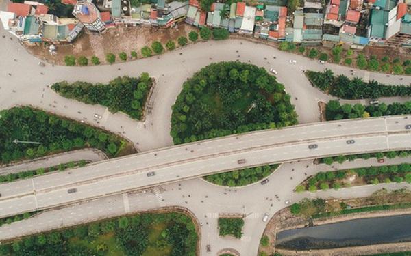 Ngắm nhìn đường phố Hà Nội từ trên cao trước ngày cách ly xã hội