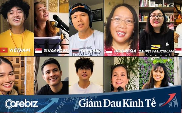 """Gửi gắm thông điệp lạc quan chống dịch, vlogger Chan La Cà hoà giọng """"We are unity"""" cùng bạn bè trong khối ASEAN"""
