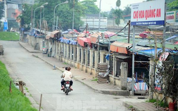Chợ hoa lớn nhất Hà Nội đóng cửa chuyển sang bán hàng trực tuyến