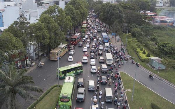 TP HCM chuẩn bị cấm ôtô lưu thông trên nhiều tuyến đường